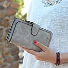 Кошелек женский Baellerry Forever, портмоне серый, фото 9