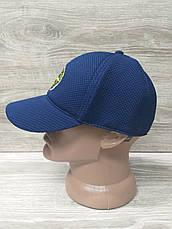 Мужская бейсболка, кепка, материал лакоста, с вышивкой, размер 57-58, на регуляторе, фото 3