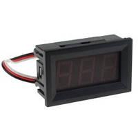 """Модуль Вольтметр DC 0-100 В 0.56"""" красный 3 провода"""