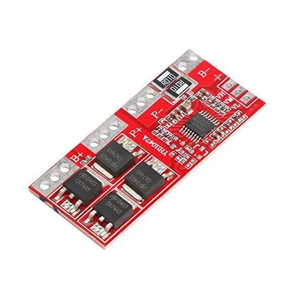 Контроллер заряда, разряда Li-Ion BMS 4S 30А, 16.8V