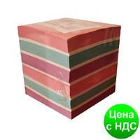 Бумага для заметок Микс, цветная, 90х90мм 900 листов, не клееная Ц402009У