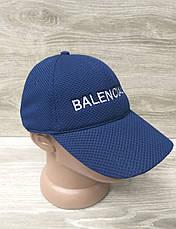 "Женская бейсболка, кепка, лакоста, с вышивкой в стиле ""Balenciaga"" (копия), размер 57-58, на регуляторе, фото 2"