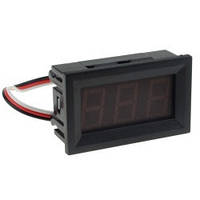 """Модуль Вольтметр DC 0-100 В 0.56"""" синий 3 провода"""