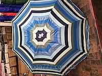 Бюджетный пляжный зонт без наклона 1.8 метра