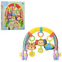 Дуга на коляску с игрушками 81542 AB