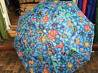 Пляжный зонт 1.8м. напыление, система антиветер