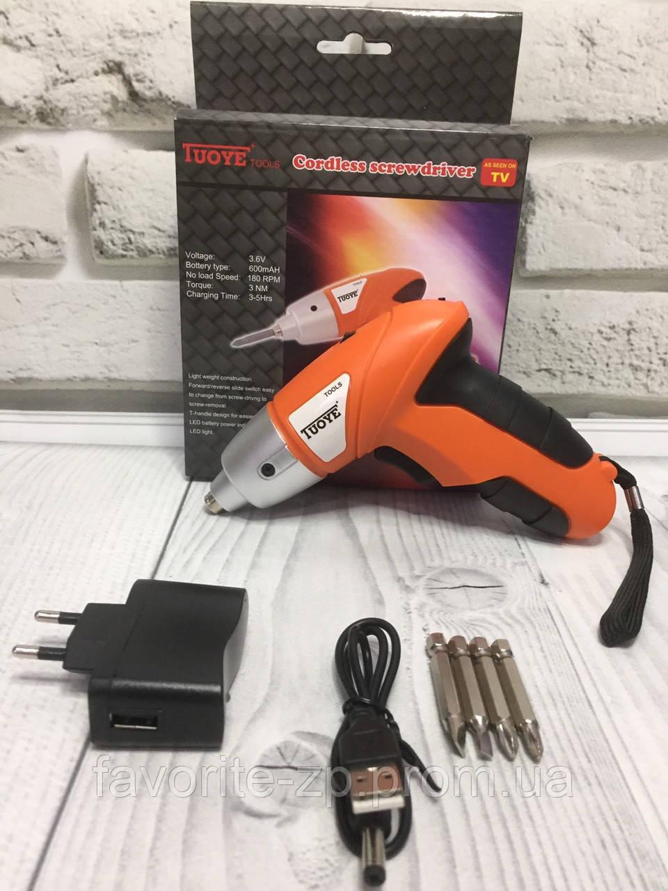 Электроотвертка Инструмент Tools Электро отвертка