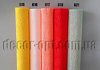 Креп-бумага 50см *2,5м 180г (Италия) каталог 6