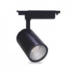 Трековый LED светильник AL103 30W 4000K черный корпус 2700lm COB LS