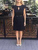 Платье кружевное в стиле Karen Millen нарядное черное, фото 1