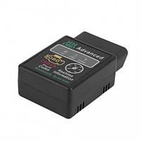 Универсальный сканер блютуз адаптер для диагностики авто Bluetooth ELM327 v1.5 HH OBD Advanced