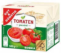 Томатная паста Gut&Gunstig Tomaten passiert  Edeka 500г Германия