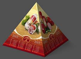 Календар настільний Пірамідка хв. від 250 шт