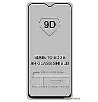 Защитное стекло 5D Full Glue для Samsung Galaxy M20 SM-M205F Black (Screen Protector 0,3 мм)