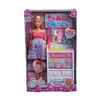 Кукла Штеффи беременная двойней с малышами и аксессуарами Steffi & Evi Love 573 3333