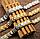 Мужской браслет из стали со вставками магнетита, фото 2