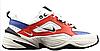 "Кроссовки Nike M2K Tekno ""White/Blue/Red"" Арт. 3493"