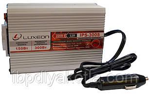 Инвертор напряжения Luxeon IPS-300S (150Вт), чистая синусоида, преобразователь 12 в 220