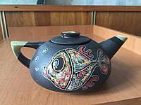 """Чайник заварочный керамический """"Три желания"""" 1000 мл"""