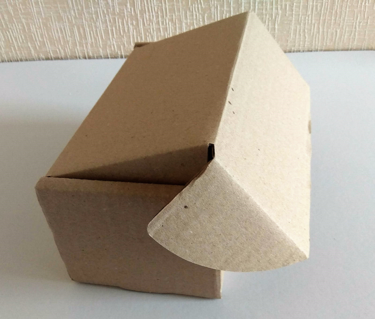Коробка картонная самосборная бурая, 140*60*100 Т-22
