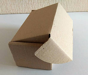 Коробка картонная самосборная бурая, 220*120*100 Т-22, фото 2