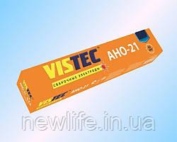 Вистек Сварочный электрод АНО-21 д. 4 мм, 5 кг