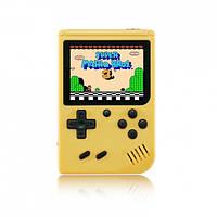 Портативна ігрова ретро приставка 400 ігор dendy денді SEGA 8bit SUP Game Box жовта