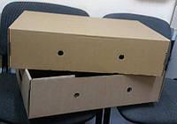 Лоток для рыбы коробка картонная самосборная бурая,