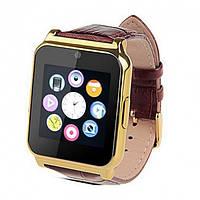 Умный смарт часы с телефоном Bluetooth smart watch W90 Золото