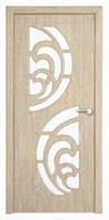 Дверь межкомнатная Модель ПРИБОЙ (остеклённая), карпатская ель