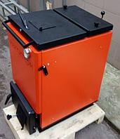 Шахтный котел Макситерм Холмова Классик 10 кВт утеплённый длительного горения