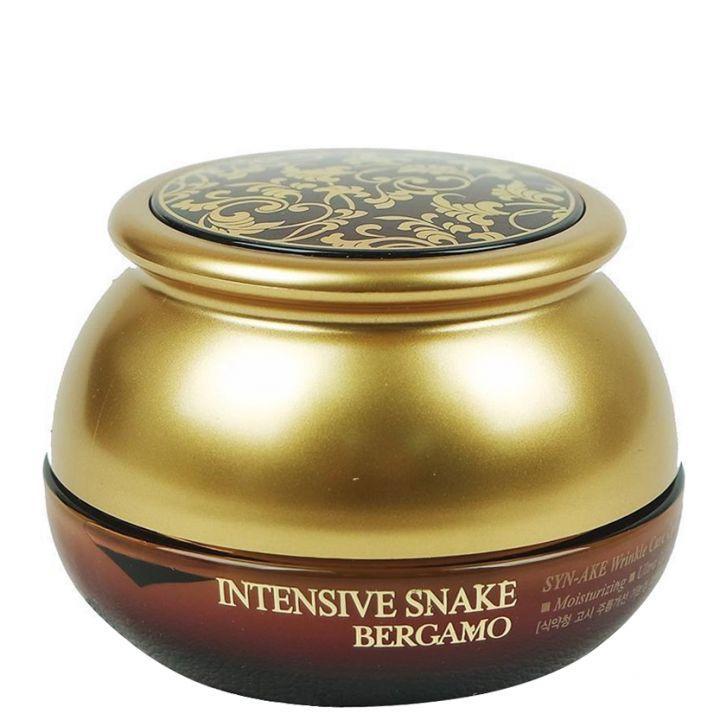 Антивозрастной крем интенсивного действия с пептидом Syn-Ake Bergamo Intensive Snake Wrinkle Care Cream