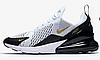 "Кроссовки Nike Air Max 270 ""White/Black/Metallic Gold"" Арт. 3934"