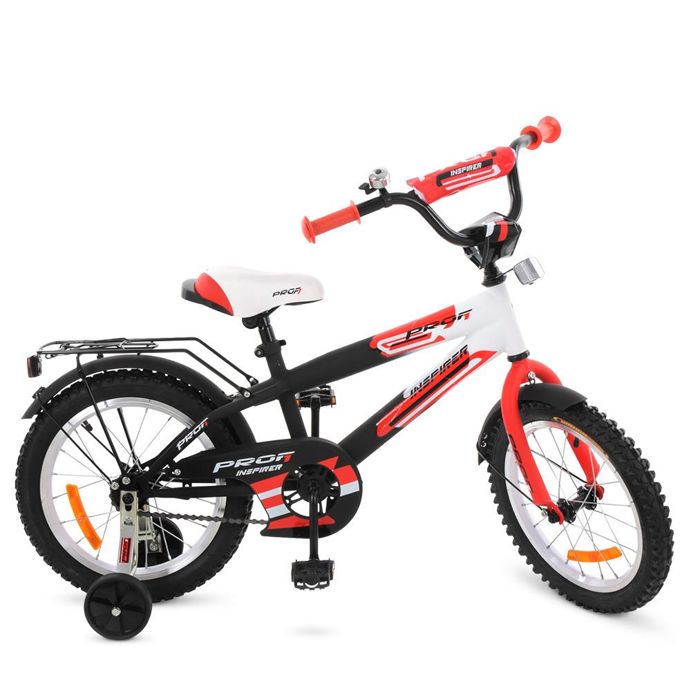 Велосипед детский PROF1 14 дюймов G1455 Inspirer Гарантия качества Быстрая доставка