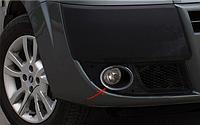 Защитная окантовка противотуманных фар Fiat Doblo 2006↗ (2 шт) OmsaLine