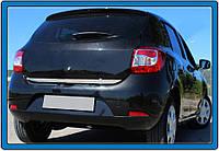Dacia Sandero 2013 Накладка на кромку багажника