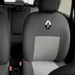 Чехлы в салон модельные Renault Clio/Symbol 2001 - (Prestige_Premium)