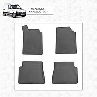 Renault Kangoo Резиновые коврики стингрей премиум 4 штуки