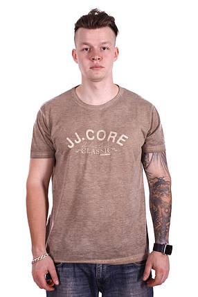 Футболка StrongMan JJ.Core f2118/5 Горчичная XXL, фото 2