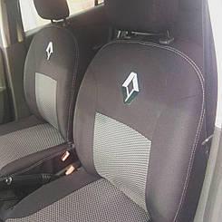 Чехлы в салон для Renault Clio c 2002 г (модельные) (EMC-Elegant)