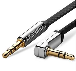 Кабель аудио Ugreen 3.5 mm AUX 1.5M Black (AV119)