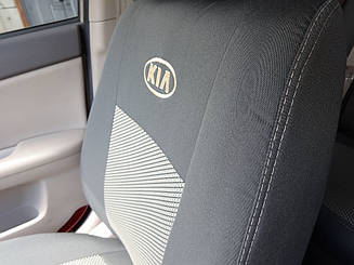 Чехлы в салон модельные Kia Cerato New 2008- (Prestige_Premium)