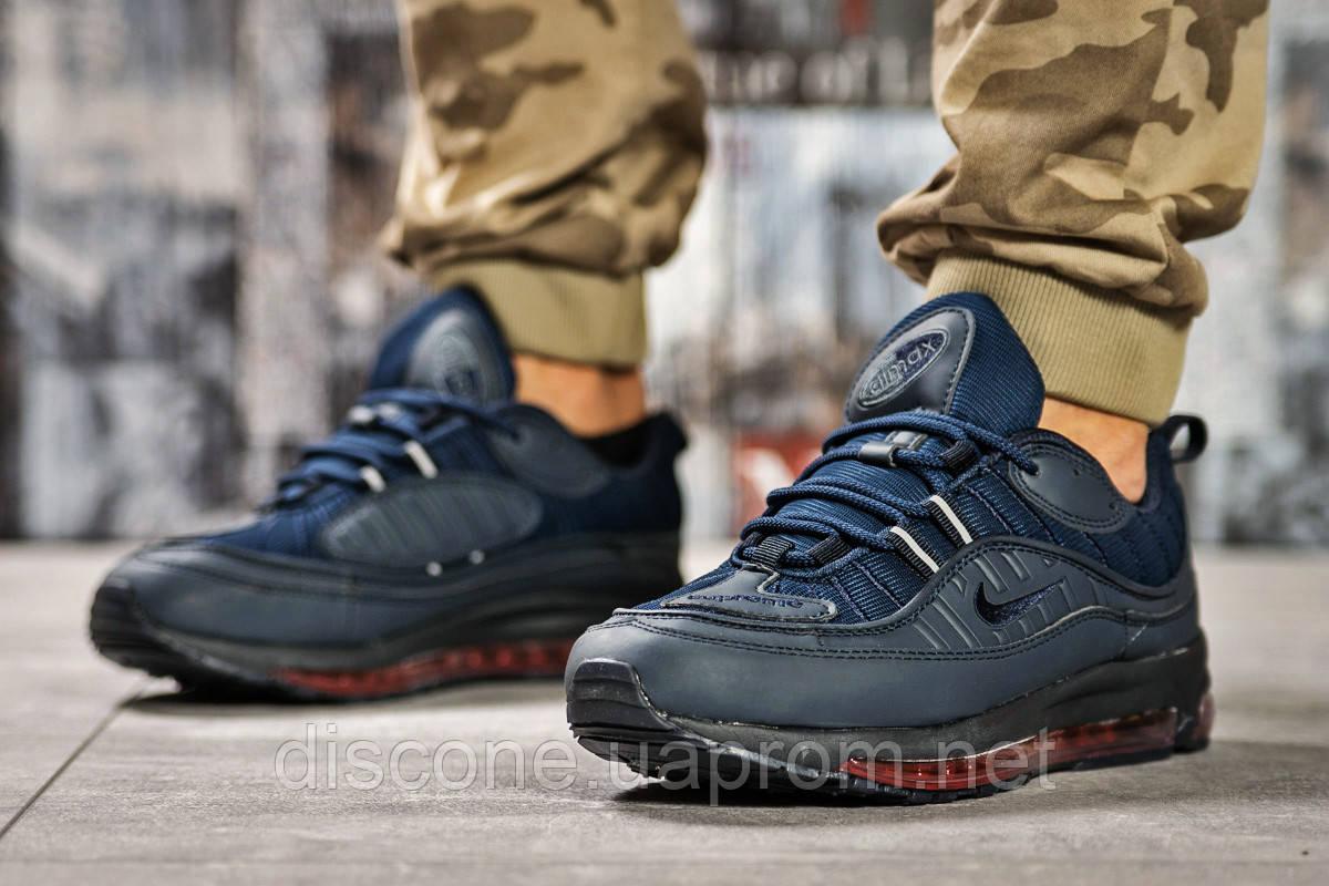 Кроссовки мужские 12672 ► Nike Aimax Supreme, темно-синие ✅SALE! 48% ► [ 41 42 43 45 46 ]