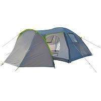Палатка четырехместная GreenCamp (2 входа) (GC1009-2)