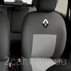 Чехлы в салон модельные Renault Logan 2004- (Prestige_Premium)