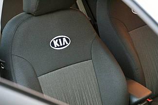 Чехлы в салон Kia Cerato New 2008- Чехлы на сидения Киа Церато (Prestige_Standart) модельные