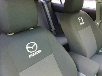 Чехлы в салон для Mazda CX-7 с 2006 г (модельные) (EMC-Elegant)