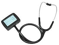 Электронный стетоскоп CMS-M: ЭКГ, ЧСС, SpO2, частота и форма пульса