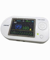 """Электронный стетоскоп CMS-VESD 2.4"""" цветной LCD дисплей: ЭКГ, ЧСС, SpO2, частота и форма пульса+ПО, передача и"""