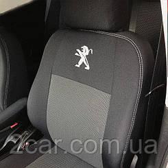 Чехлы в салон для Peugeot 2008  с 2013 г (модельные) (EMC-Elegant)